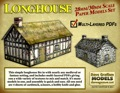 Longhouse 30mm Paper Model PDF