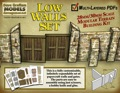 Low Walls 28mm/30mm Modular Paper Models PDF