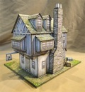 Mermaid Tavern Paper Model PDF