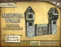 Medieval Walls Set 28mm Paper Models PDF