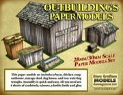 Outbuildings 30mm Paper Models Set PDF