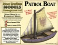 Patrol Boat 30mm Paper Model PDF