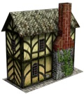 Potter's Shop 28mm/30mm Paper Model PDF