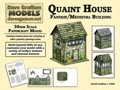 Quaint House 28mm/30mm Paper Model PDF