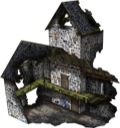 Ruined Church 28mm/30mm Paper Model PDF