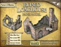 Ruined Longhouse Paper Model PDF