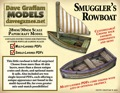 Smuggler's Rowboat 28mm/30mm Paper Model PDF