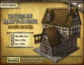 Tavern of Rake's Corner Paper Model PDF