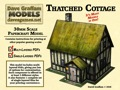 Thatched Cottage 28mm/30mm Paper Model PDF