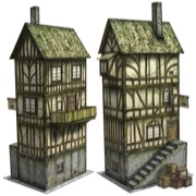 Tax Collector's Office 28mm/30mm Paper Model PDF