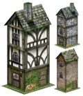 Tall Hostel 28mm/30mm Papercraft Model PDF