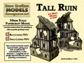 Tall Ruin 28mm/30mm Papercraft Model PDF