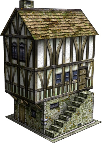 Tudor house make school project