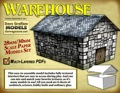 Warehouse 30mm Paper Model PDF