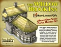 Willow Brook Inn 30mm Paper Model PDF