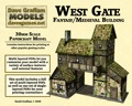 West Gate 30mm Paper Model PDF