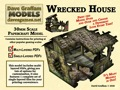 Wrecked House 30mm Paper Model PDF
