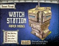 Watch Station Paper Model PDF