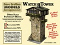 Watch Tower 28mm/30mm Paper Model PDF