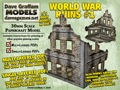 World War Ruins #1 30mm Paper Model PDF