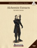 Echelon Reference Series: Alchemist Extracts (PFRPG+PRD) PDF