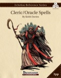 Echelon Reference Series: Cleric Spells (3pp+PRD) PDF