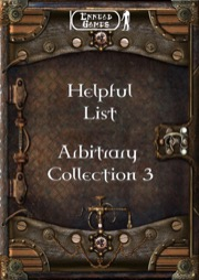 Helpful List Arbitrary Collection 3 PDF