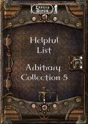 Helpful List: Arbitrary Collection 5 PDF