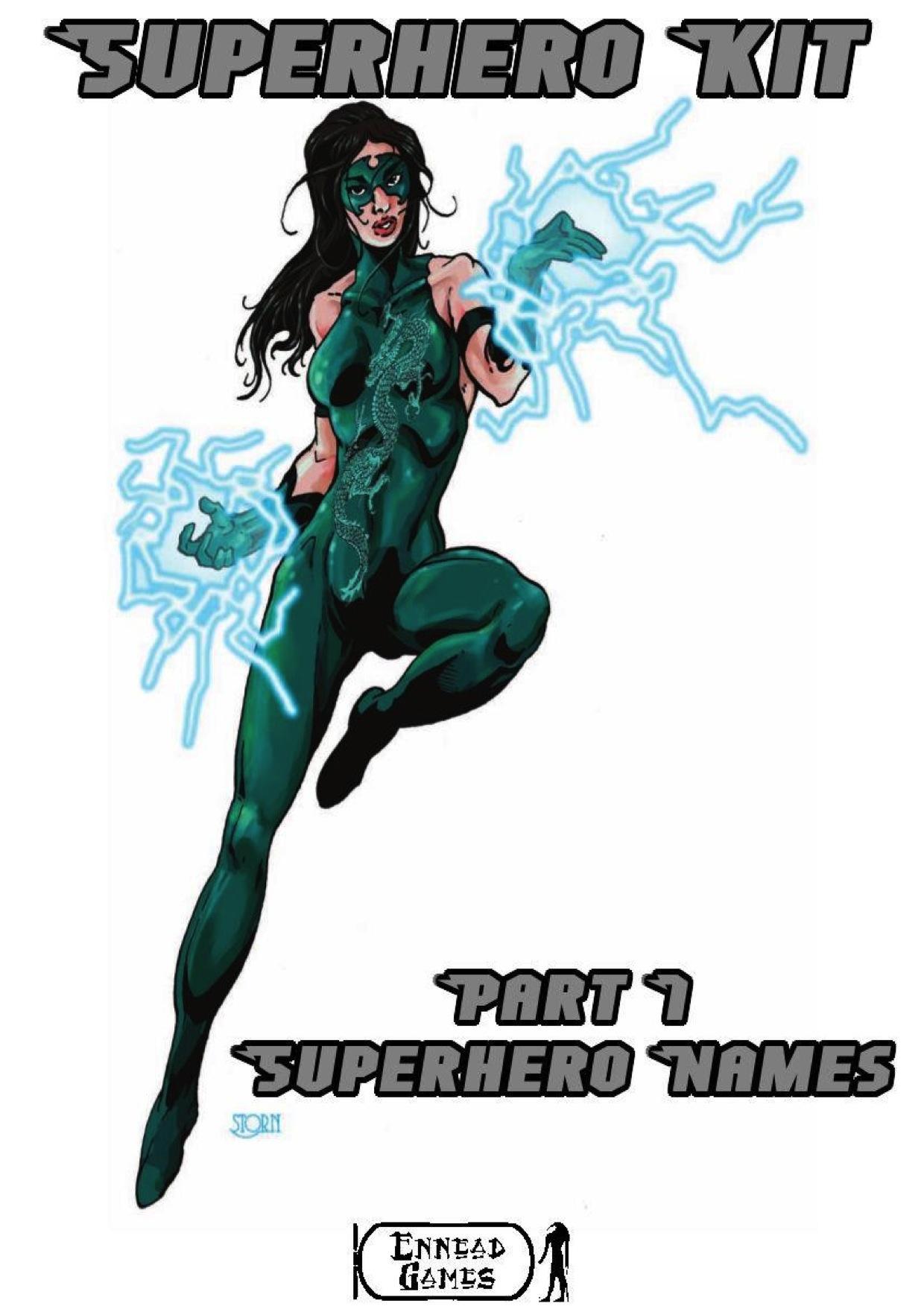paizo.com - Superhero Kit, Part 1: Superhero Names PDF