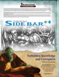 Sidebar #4—Forbidden Knowledge and Corruption (PFRPG) PDF
