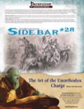 Sidebar #28: The Art of the Unorthodox Charge (PFRPG) PDF