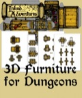 Inked Adventures: 3D Furniture For Dungeons PDF