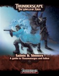 Thunderscape: Saints & Sinners (PFRPG) PDF