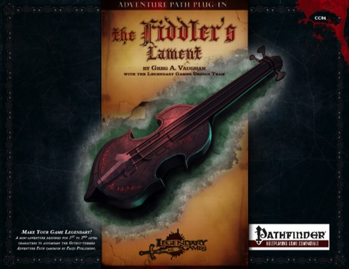 Cover of The Fiddler's Lament