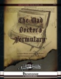 The Mad Doctor's Formulary (PFRPG)