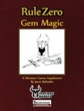 Rule Zero: Gem Magic (PFRPG) PDF