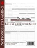 Deluxe Character Sheet (PFRPG) PDF