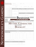 Mythic Character Booklet (PFRPG) PDF