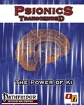 Psionics Transcended: The Power of Ki—Playtest (PFRPG) PDF