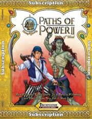 Paths of Power II: Paths of Blood (PFRPG)