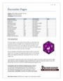Encounter Pages (PFRPG) PDF
