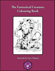 The Fantastical Creatures Colouring Book PDF