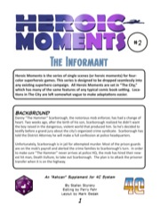 Heroic Moments—Vol. 2, Issue #2: The Informant (4C) PDF