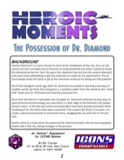 Heroic Moments: The Possession of Dr. Diamond (ICONS) PDF