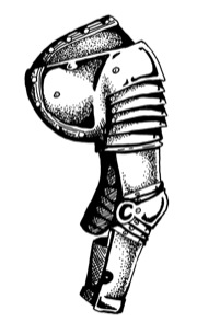 Stock Art: Plate Armor Piece (Download)