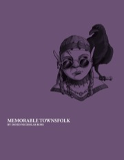 Memorable Townfolk (PFRPG) PDF