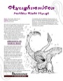 Oytughnomicon: Northern Waste Otyugh (PFRPG) PDF