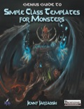 Genius Guide to Simple Class Templates for Monsters (PFRPG) PDF