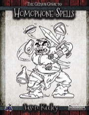 The Genius Guide to Homophone Spells (PFRPG) PDF