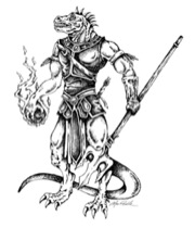 Stock Art: Lizardfolk King (Download)